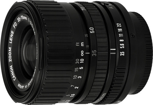 Canon New FD 35-70mm macro